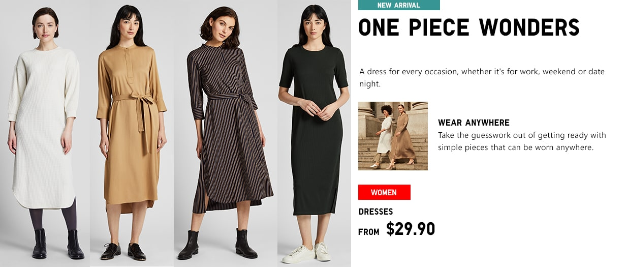64901acdd3ea7 UNIQLO |Women's, Men's Kids' and Baby's Clothing and Accessories