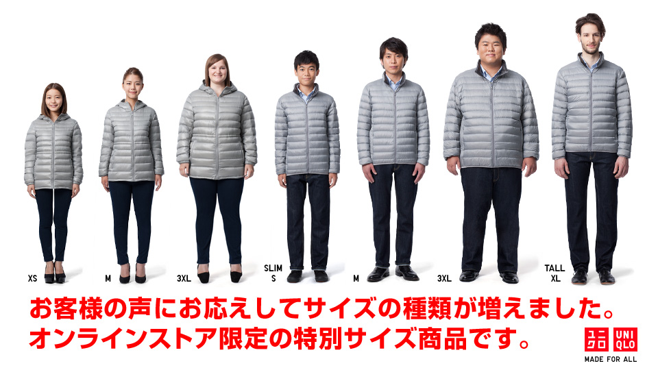 uniqlo clothing size chart malefashionadvice
