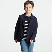 BOYS カットソーテーラードジャケット+E