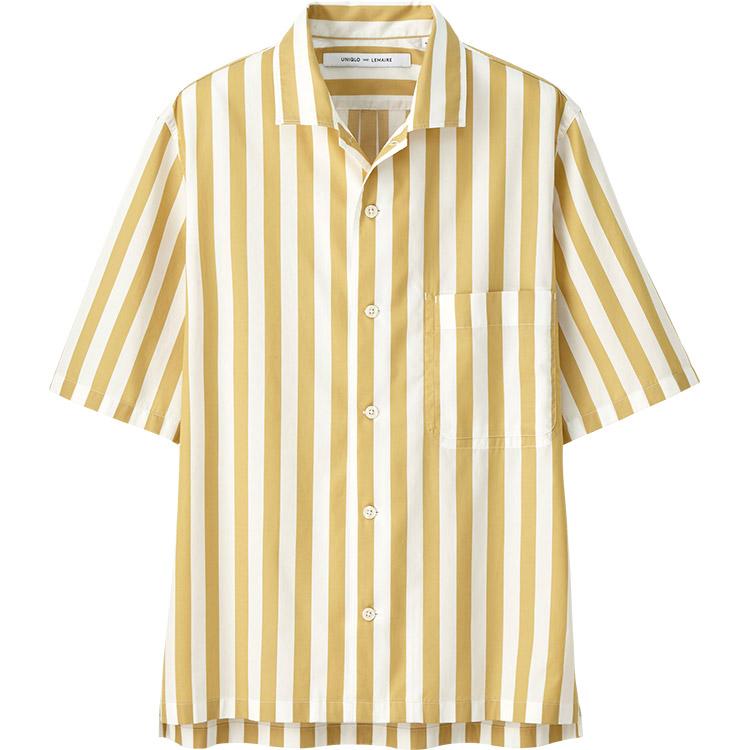 ワイドストライプシャツ,メンズ,コーデ,着こなし,おすすめ,ブランド,画像
